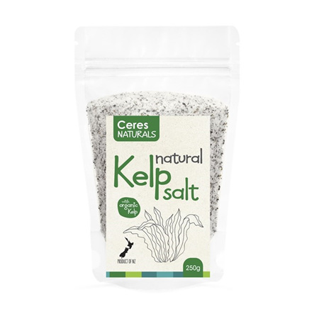 Ceres Naturals Organic Kelp Salt Natural 250g