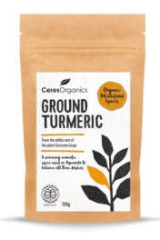 Ceres Organics Ground Turmeric Powder 120gm