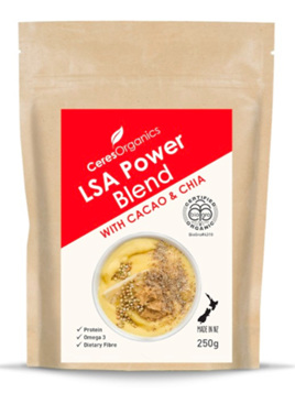 Ceres Organics LSA Power Blend with Cacao & Chia 250gm