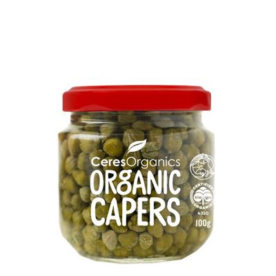 Ceres Organics Mediterranean Capers - 100g