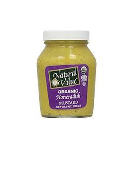 Ceres Organics Mustard Horseradish 255g
