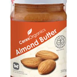 Ceres Organics Organic Almond Butter 300g/2kg