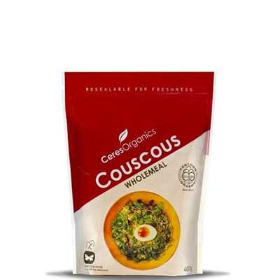 Ceres Organics Organic Couscous Wholemeal 400g
