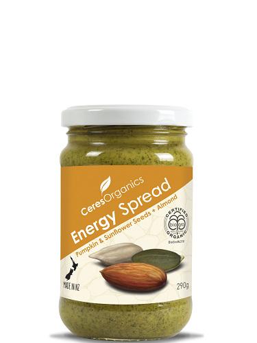 Ceres Organics Organic Energy Spread 290g