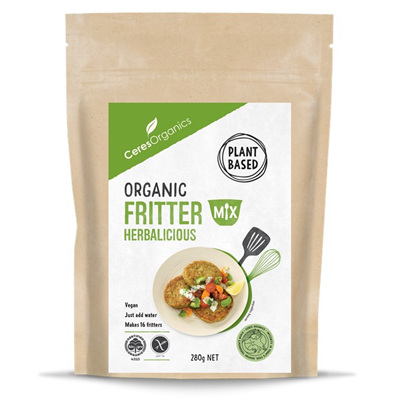 Ceres Organics Organic Fritter Mix Herbalicious 280g