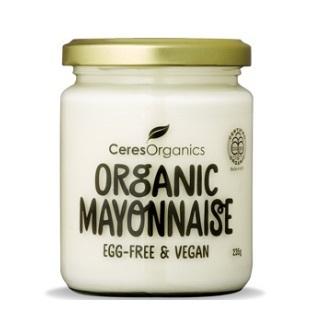 Ceres Organics Organic Mayonnaise Egg Free Vegan 235g