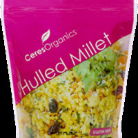Ceres Organics Organic Millet Whole Hulled Gluten Free 500g