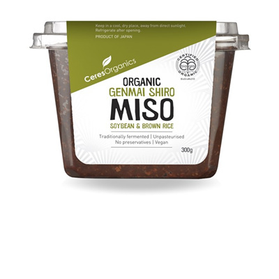 Ceres Organics Organic Miso Genmai Shiro 300g