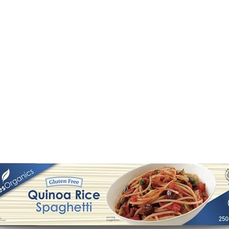 Ceres Organics Organic Spaghetti Quinoa Rice 250g