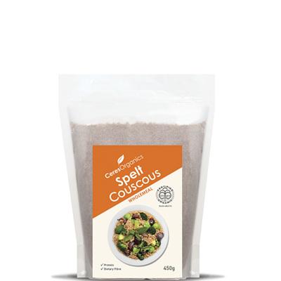 Ceres Organics Organic Spelt Couscous Wholemeal 450g