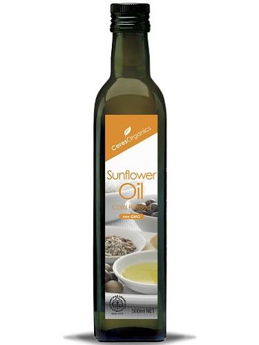 Ceres Organics Organic Sunflower Oil Cold Pressed 500ml