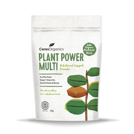 Ceres Organics Plant Power Multi, Nutritional Support Formula 250gm