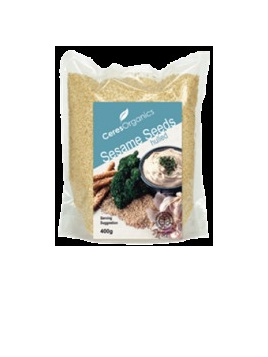 Ceres Organics Sesame Seeds Raw 400g