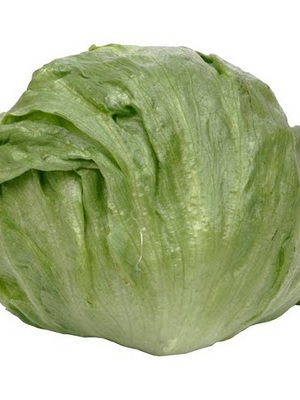 Certified Organic Lettuces (Iceburg) - 1 head