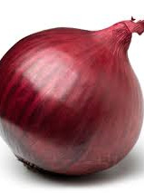 Certified Organic Onions (Red) - 500g approx.
