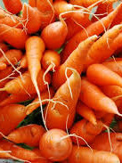 Certified Organic Table Grade Carrots - 1Kg