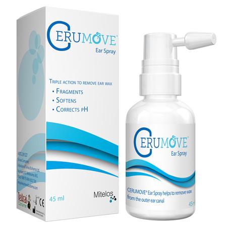 Cerumove Ear Spray (Buffered hydrogen peroxide) 45ml