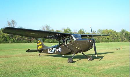 Cessna Bird Dog 72' 40 Size Laser Cut Short Kit