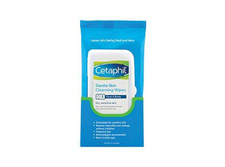 Cetaphil Gentle Skin Cleansing Wipes