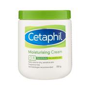 Cetaphil Moisturising Cream - 100g (550g in photo)