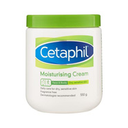 Cetaphil Moisturising Cream - 100g (550g in photo)