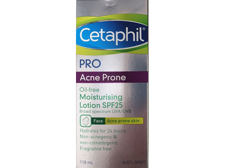 Cetaphil Pro Acne Prone Lotion Spf 25 118ml