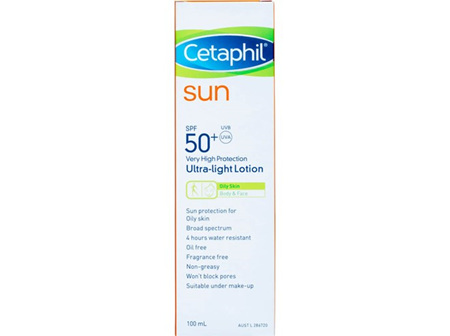 Cetaphil Sun Spf50+ U/Light 100Ml