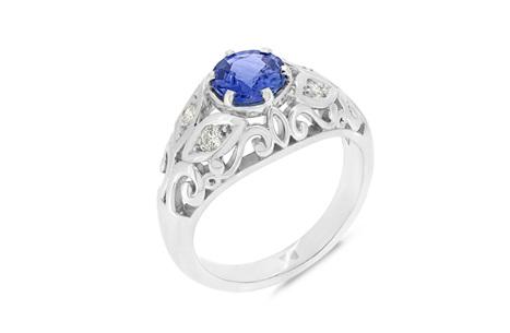 Ceylon Sapphire Vintage Ring