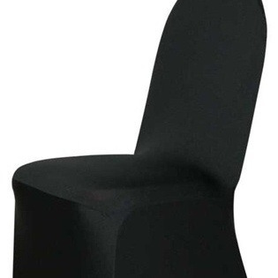 Lycra Chair Cover - Black
