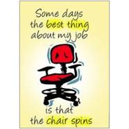 Chair Spins Fridge Magnet