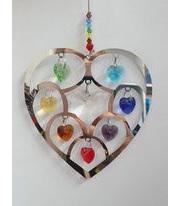 Chakra heart hanging