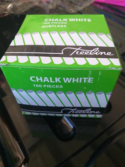 CHALK White 100pc