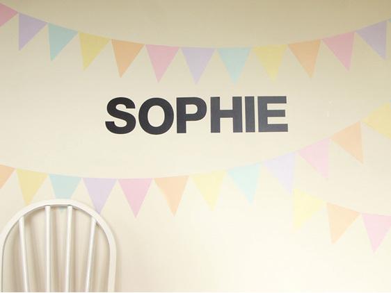 Chalkboard letters sophie bunting
