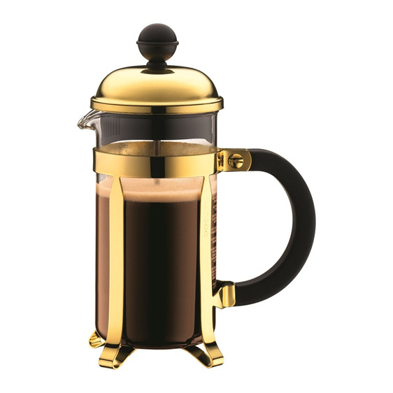 Chamboard Coffee Maker 3 Cup 350ml Gold