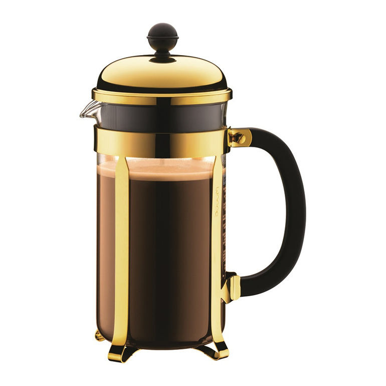 Chamboard Coffee Maker 8 cup 1 Litre Gold