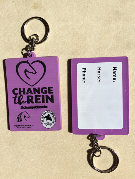 Change the Rein - Halter Tags