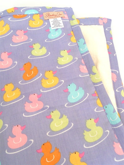 Changing Mat - Purple Duckie