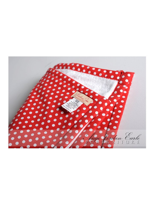 Changing Mat - Red Spotty