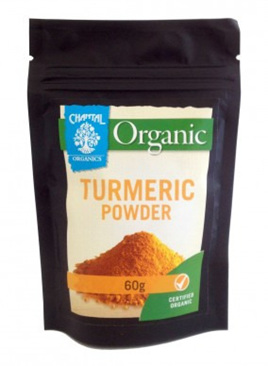 Chantal Organic Turmeric 60gm