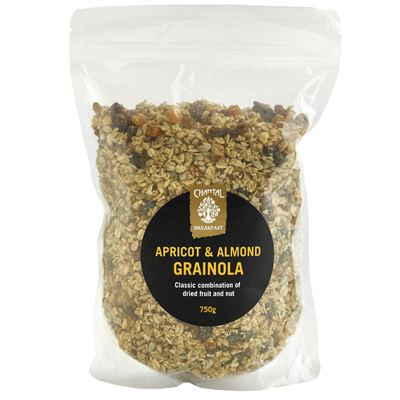 Chantal Organics Apricot & Almond Grainola 750g