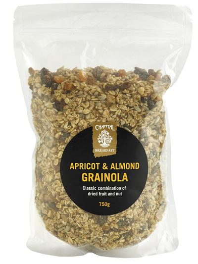 Chantal Organics Apricot & Almond Grainola 750g