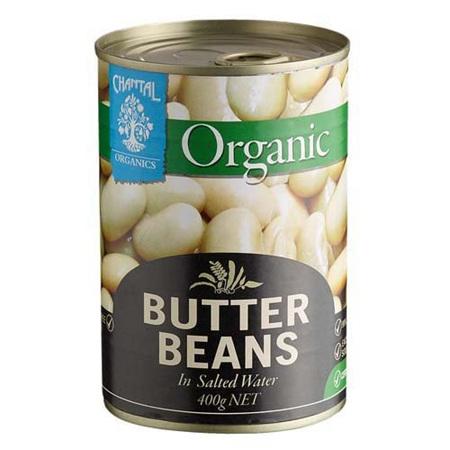 Chantal Organics Butter Beans 400G