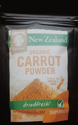 Chantal Organics Carrot Powder 100gm