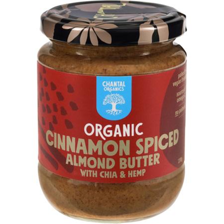 Chantal Organics Cinnamon Spiced Almond Butter 230g