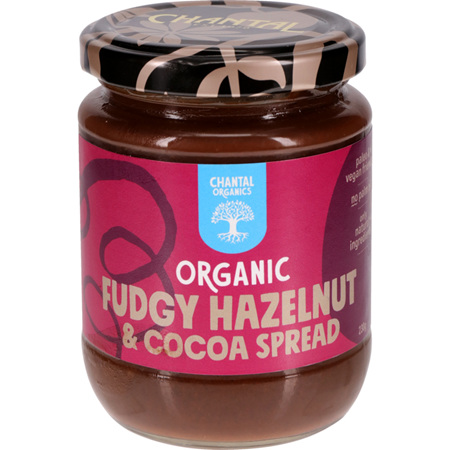 Chantal Organics Fudgy Hazelnut & Cocoa Spread 230g