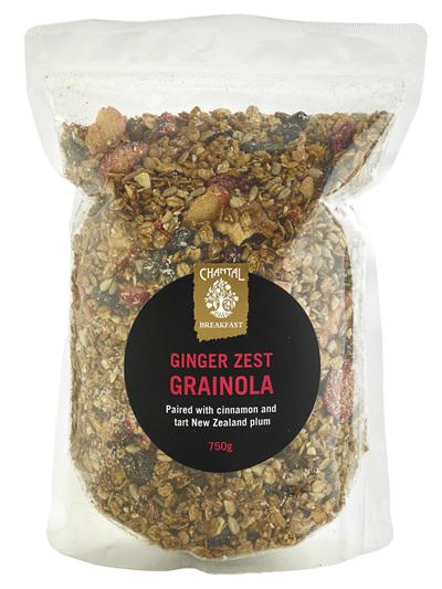 Chantal Organics Grainola Ginger Zest 750g