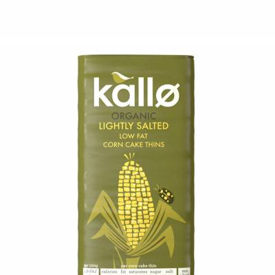 Chantal Organics Kallo Corn Cakes Square 130g