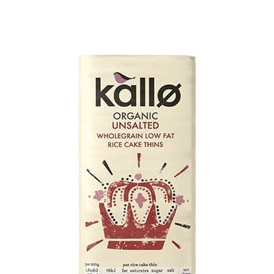 Chantal Organics Kallo Rice Cakes Square 130g