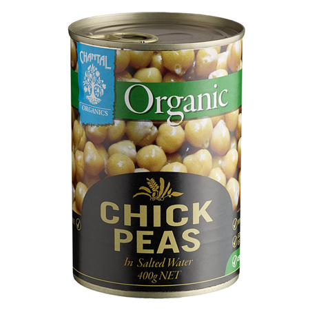 Chantal Organics Organic Chickpeas 400g