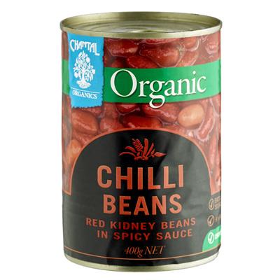 Chantal Organics Organic Chilli Beans 400g